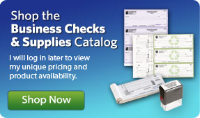 Shop the Business Checks and Supplies catalog