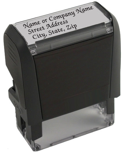 Elegance Address Stamp 1