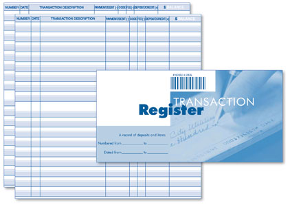 Personal Registers 1