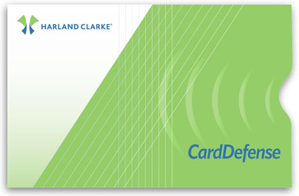 CardDefense Secure Sleeves, by Harland Clarke